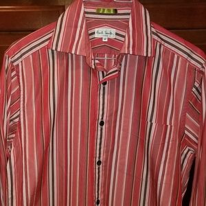 Paul Smith Stripe Shirt Medium London French Cuff